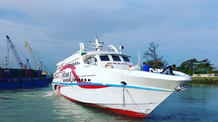 Penumpang Express Bahari Diperkirakan Melonjak H-4 sampai H-3 Idulfitri