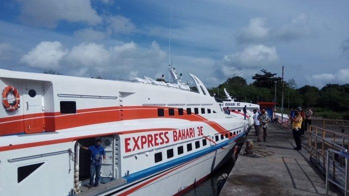 Wajib Rapid Test Antigen, Penumpang Express Bahari 3E Turun Drastis