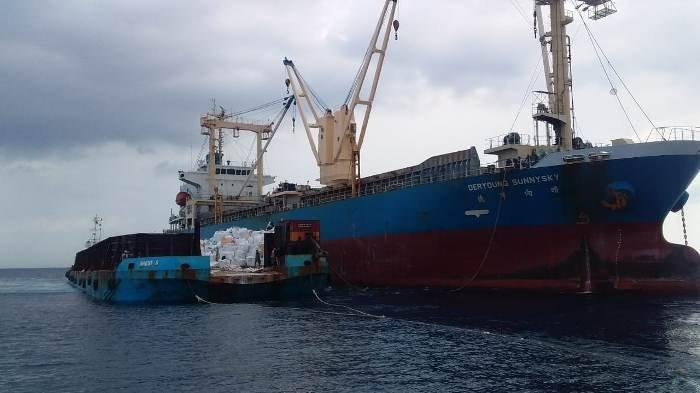 Angka Ekspor Kaolin Di Belitung Melonjak, 20 Kapal Lakukan Ekspor ke Malaysia