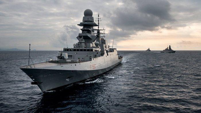 Delapan Kapal Perang Jenis Fregat Buatan Italia Siap Dipasok ke Indonesia, Ini Spesifikasinya