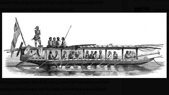Menelisik Sisi Lain Lanun di Belitung, Ternyata Mereka Dulu Sangat Ditakuti Oleh Para Pedagang Eropa