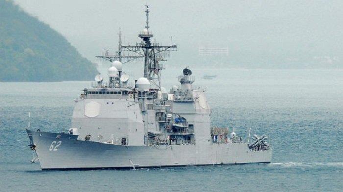 China & AS Saling Pamer Kekuatan, Kerahkan Kapal Perang ke LCS, Dikhawatirkan Picu Perang Dunia III