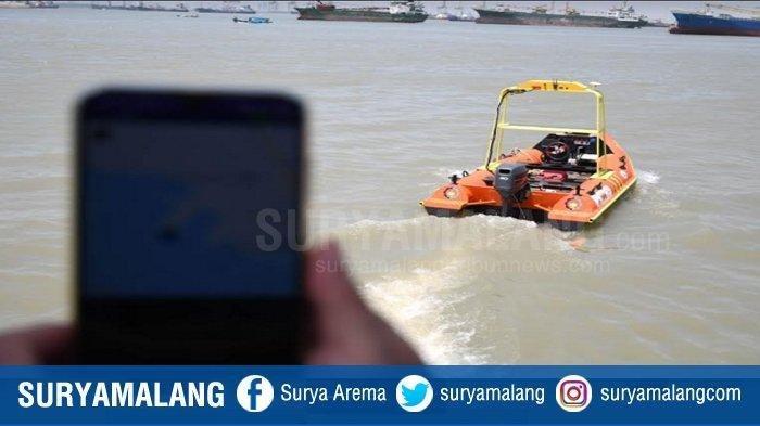 Kapal Pintar Tanpa Awak Buatan ITS Dikontrol via Android, Canggihnya Auto Tolong Orang Tenggelam