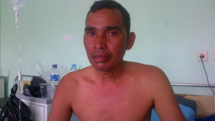 BREAKING NEWS KAPAL TENGGELAM : H Ase Minum Air Laut, Bertahan Tiga Hari Tiga Malam di Laut