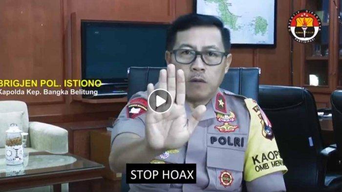 Kapolda Bangka Belitung Tak Izinkan Demonstrasi saat Pelantikan Jokowi-Ma'ruf Amin