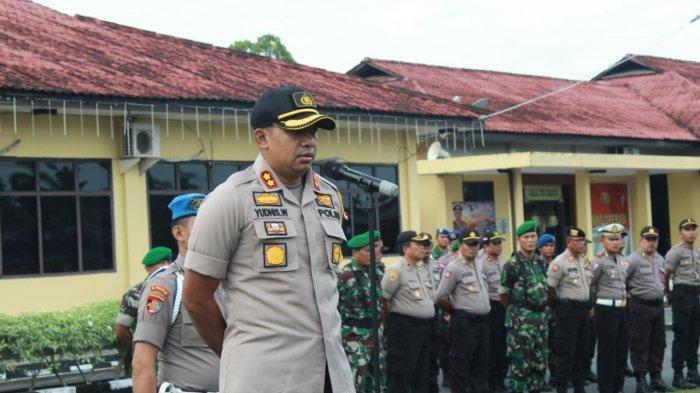 Kapolres Belitung Imbau Masyarakat Tidak Terprovokasi Isu Pasca Pemilihan