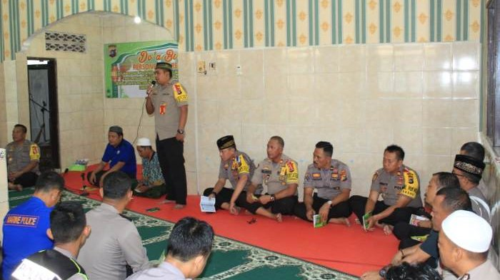 Polres Belitung Gelar Doa Bersama Untuk Korban Lion Air JT610