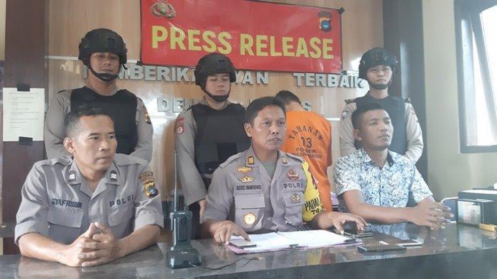 Polsek Tanjungpandan Bekuk Pelaku Curat, Lancarkan Aksi di Dua Tempat Berbeda