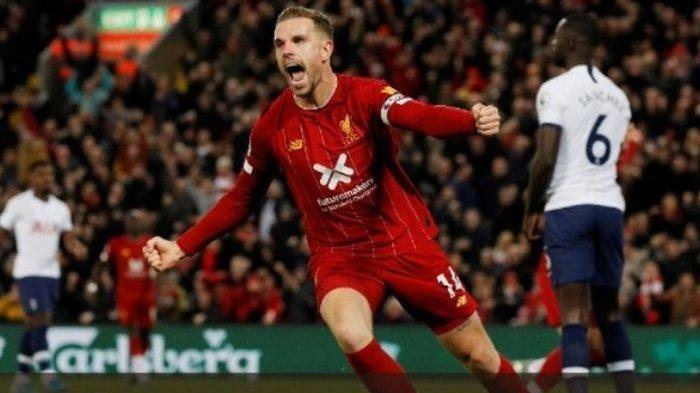 Cerita Kapten Liverpool Jordan Henderson, Dibalik Kemenangan Dramatis Melawan Tottenham Hotspur