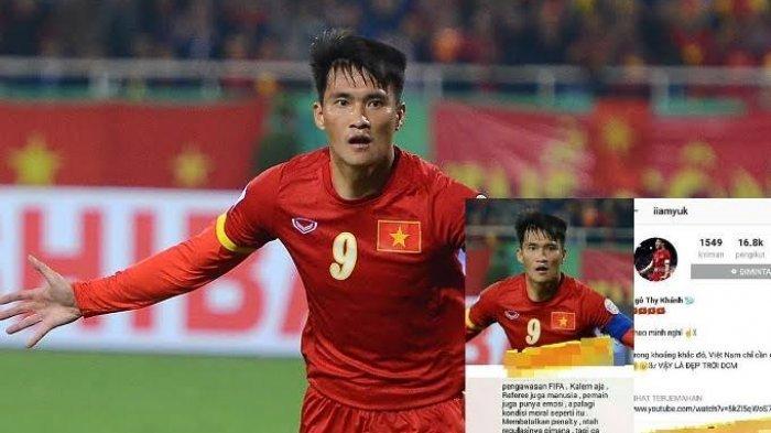 Akun Kapten Vietnam Bikin Geger Netizen, Hina Indonesia Usai Kalah di Semifinal