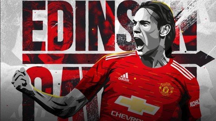 Eks penyerang Paris Saint-Germain, Edinson Cavani, resmi bergabung Manchester United dengan status bebas transfer jelang ditutupnya bursa transfer musim panas 2020.