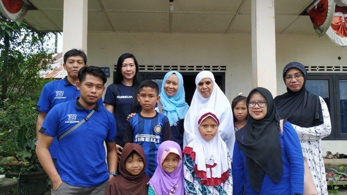 Pos Belitung Rayakan Ulang Tahun dengan Silaturahmi ke Panti Asuhan Nur Annisa Fitriani