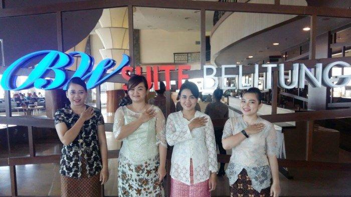 Peringati Hari Kartini, Karyawati BW Suite Belitung Kenakan Kebaya