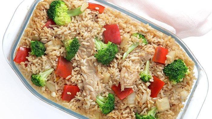 Dari Aromanya Saja Bikin Pengin Cepat Sarapan, Rasa Kaserol Nasi Teriyaki Boleh Diadu!