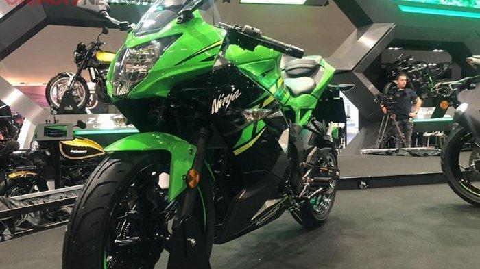 Kawasaki Ninja 125 di Rakit di Indonesia tapi Dijual ke Eropa