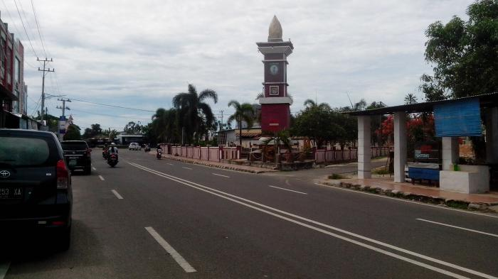 Kawasan Taman Kota Bakal Dicanangkan Jadi Alun-alun Simpang Lima Kota Manggar