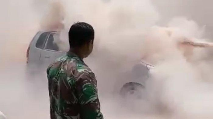 Mobil di Purwakarta Terbakar Akibat Power Bank yang Meledak