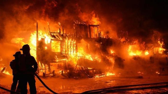Rumah di Bogor Ludes Dilalap Api, Seorang Bocah Terluka