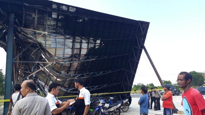 Peristiwa Kebakaran Venue Panjat Tebing Sangat Cepat, Mobil Damkar Datang Api Sudah Padam