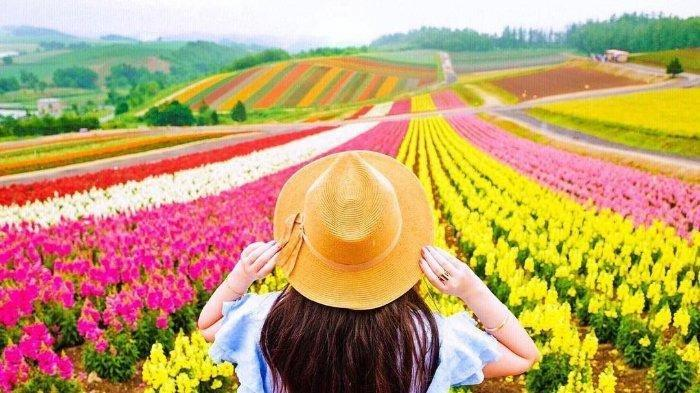 Hati Pun Berbunga Seindah Bunga-bunga di Taman Bunga Terbaik Dunia Ini