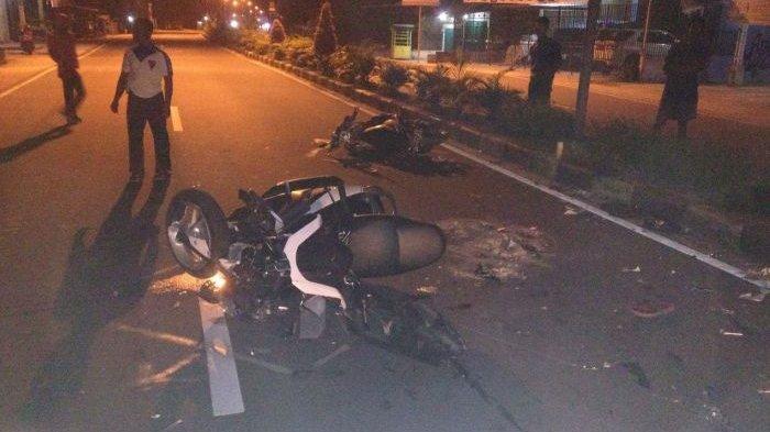 Breaking News: Adu Kambing Mio Vs NMAX, Satu Pengendara Tewas di Tempat - kecelakaan_20170307_120458.jpg