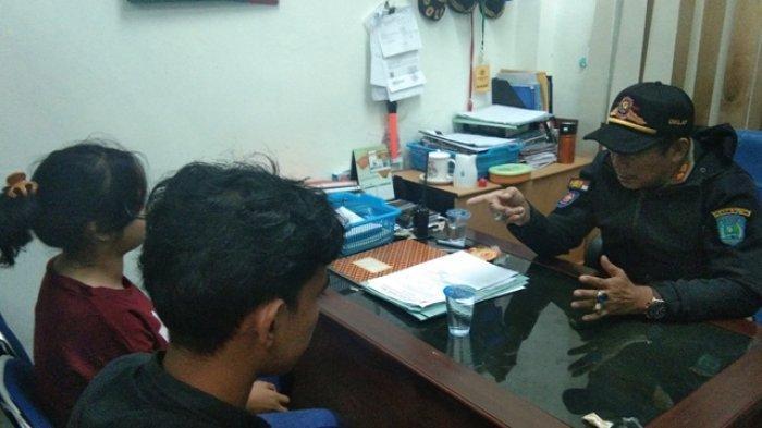 Nongkrong Ditempat Gelap, Dua Pasang Remaja Terjaring Razia Satpol PP Belitung