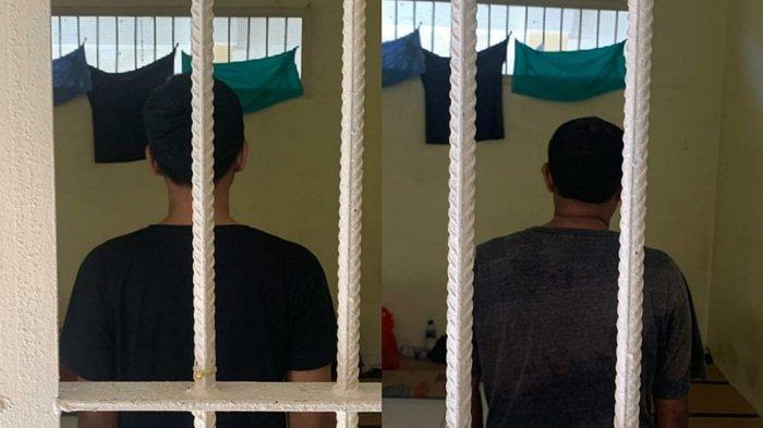 Satreskrim Polres Beltim Tangkap Basah 2 Penjudi Online di Manggar Belitung Timur