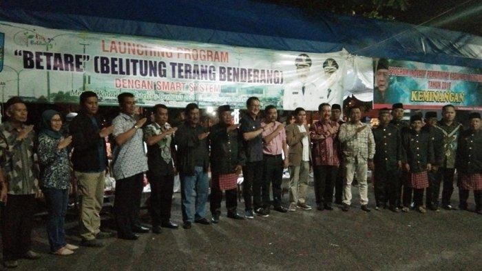 Penyalaan Lampu Jalan via Smartphone Tandai Peluncuran Program Betare di Belitung