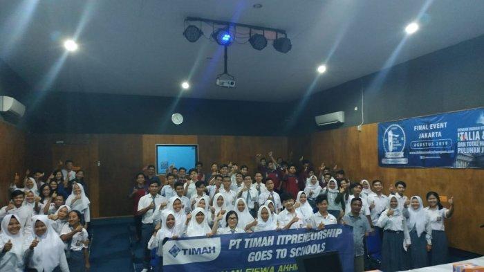 PT Timah Ajak Siswa Belitung dan Beltim Geluti Bisnis Digital
