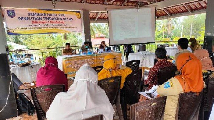 Enam Guru Ikut Seminar Penelitian Tindakan Kelas, Belajar Berinovasi Dalam Pembelajaran