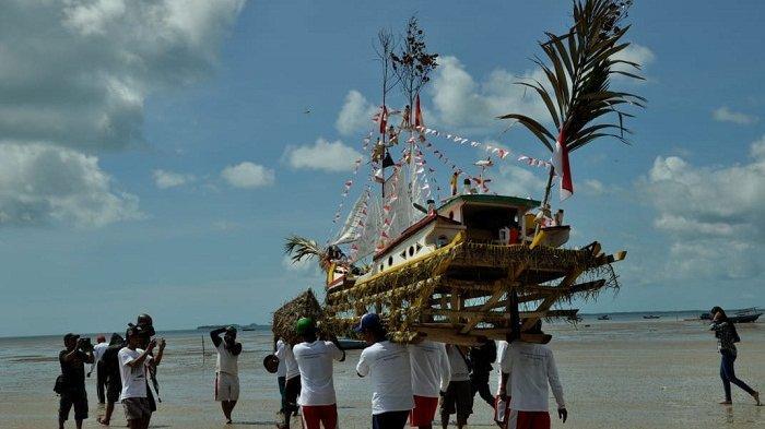 Hari Ini Kegiatan Tradisi Buang Jong Suku Sawang Dimulai, Ketahui Makna dan Rangkaian Acaranya