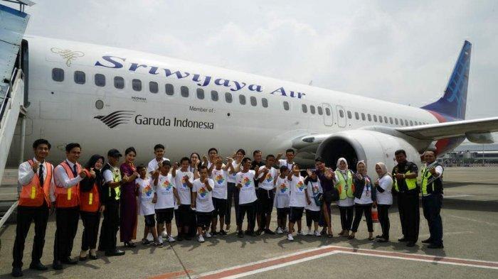 Sriwijaya Air Group Ajak Anak-anak Autis Mengunjungi Bandara Internasional Soekarno Hatta
