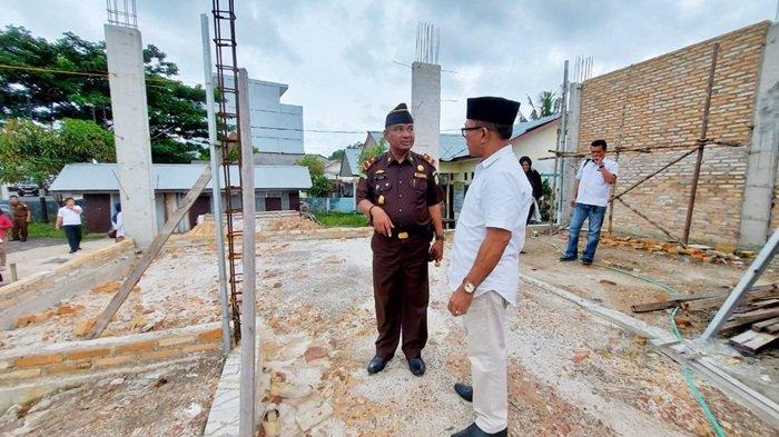 Warga Menanyakan Soal Progres Pembangunan Kantor Desa Baru Manggar, Ini Tanggapan Kades