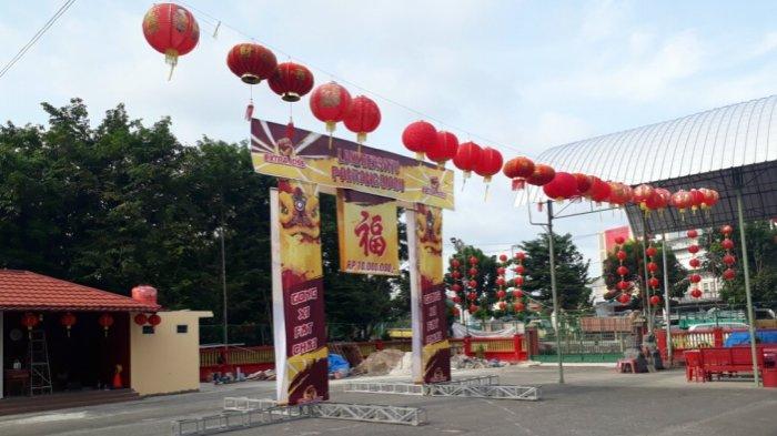 Perayaan Cap Go Meh, Lima Barongsai Berebut Angpao Rp 10 juta di Klenteng Hok Tek Che