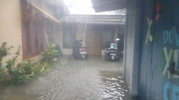 300 Rumah Terendam Banjir di Kampung Amau Belitung