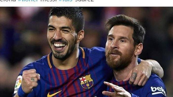 Terungkap 3 Hal yang Buat Lionel Messi Mau Bertahan di Barcelona, Ini Prediksi Luis Suarez