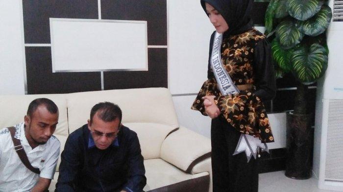 Jadi Finalis Putri Indonesia 2019 Asal Aceh Keny Suwanda Dapat Pesan Ini dari Wali Kota Lhokseumawe