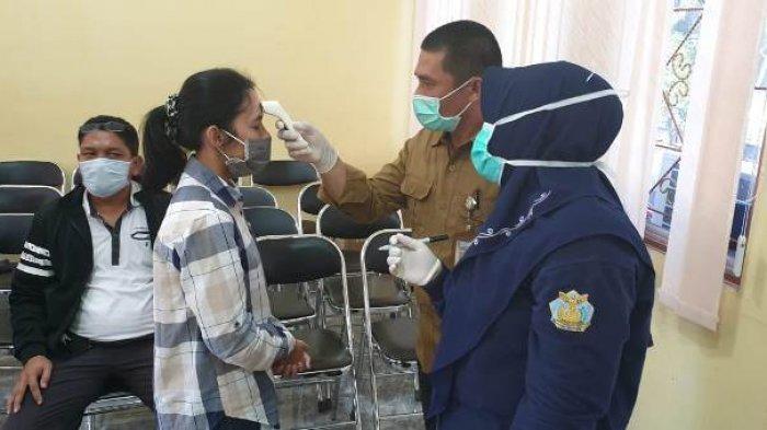 Terkait Wabah Virus Corona, 12 Peserta Diklat dari Belitung Timur Dipulangkan oleh BPSDM Jawa Barat