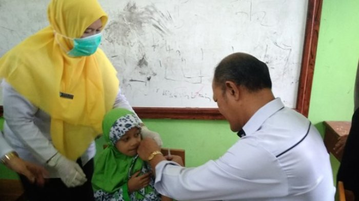 Orangtua Pertanyakan Kehalalan Vaksin MR