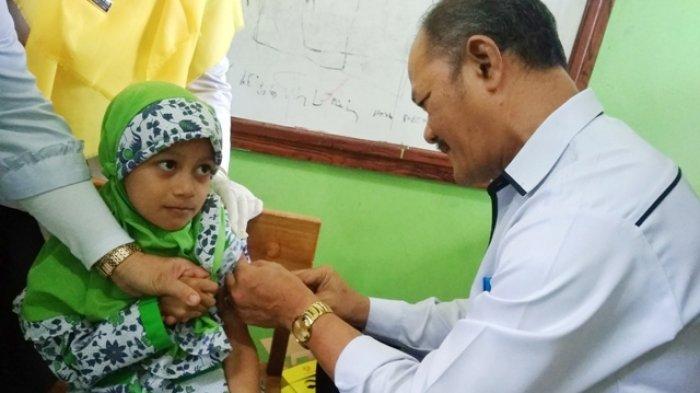 Suhandri Tunggu Instruksi Pusat Terkait Imunisasi MR