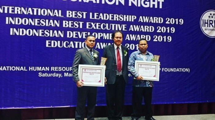 Kepala KSOP Tanjungpandan Sabet Dua Award