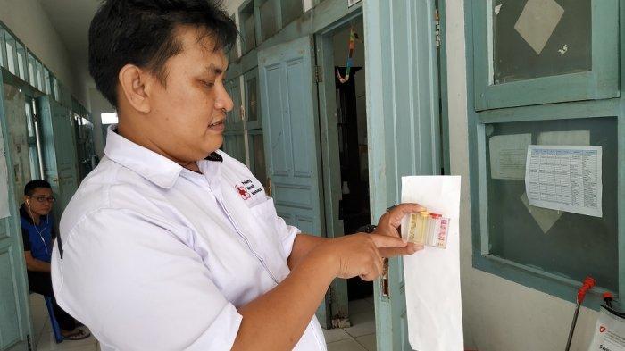 PMI Kabupaten Belitung Siap Kerjasama Desa Latih Pembuatan Disinfektan