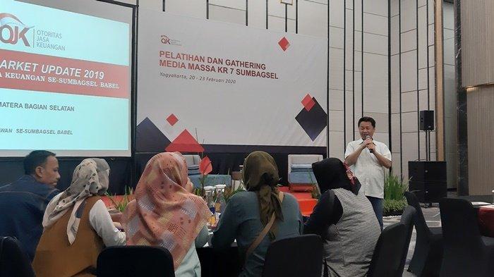 Kepala OJK Regional 7 Sumbagsel Sampaikan Kondisi Perekonomian Pada Gathering Media Massa