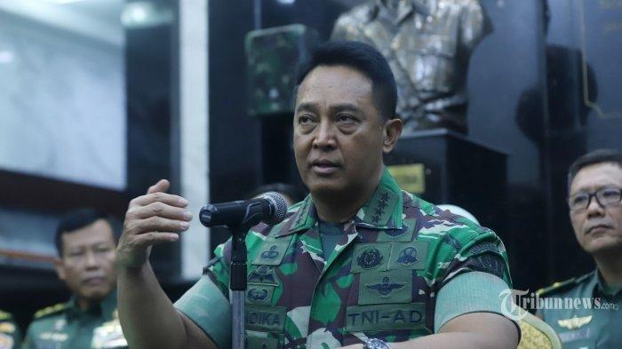 KSAD Jenderal Andika Pastikan Anggota TNI yang Serang Polsek Ciracas Dipecat!