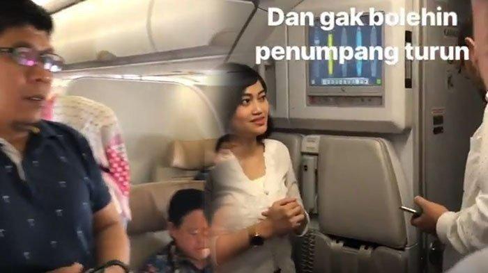 Video Detik-detik Kepanikan Penumpang Batik Air ID 7054 yang Memaksa Turun, Mesin Mati Sampai 2 Kali