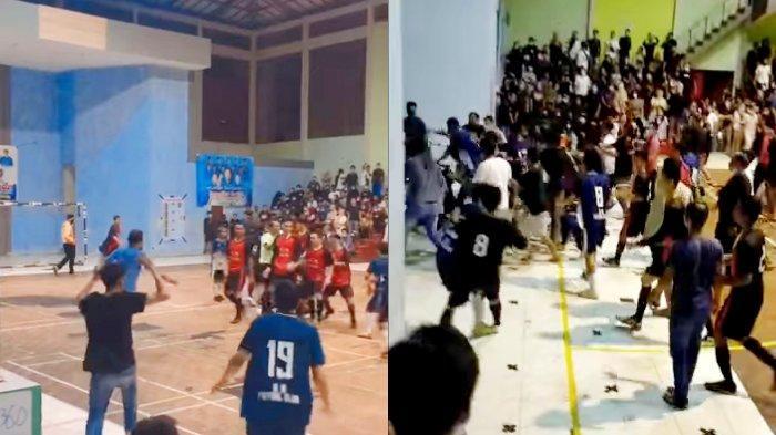 Beredar Video Pertandingan Futsal Ricuh, Begini Tanggapan Kadispora