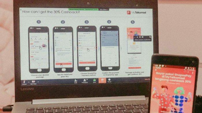 ShopeePay dan MyTelkomsel Jalin Kerja Sama untuk Mempermudah Sistem Pembayaran