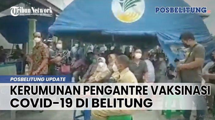 Distribusi Vaksin Covid-19 ke Belitung Terhambat, Puskesmas Hentikan Sementara Vaksinasi ke Sasaran