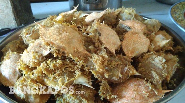 Ketam Isi, Cara Mudah Nikmati Daging Kepiting yang Kini Jadi Oleh-oleh Populer Belitung