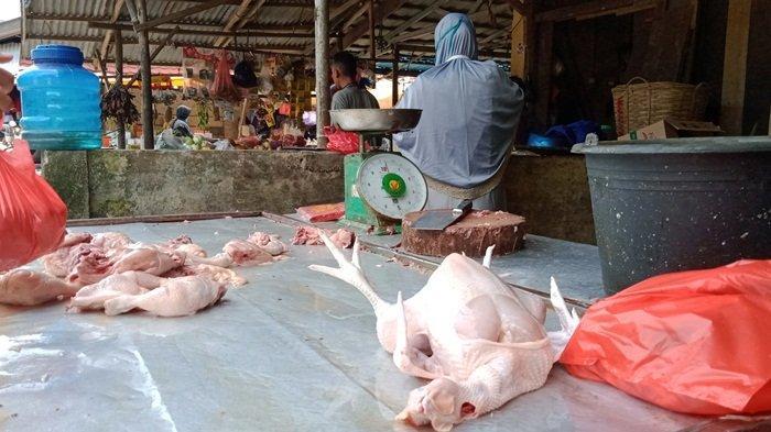 Stok Ayam Potong Terbatas, Harga Mulai Alami Kenaikan Rp40.000 per Kilogram